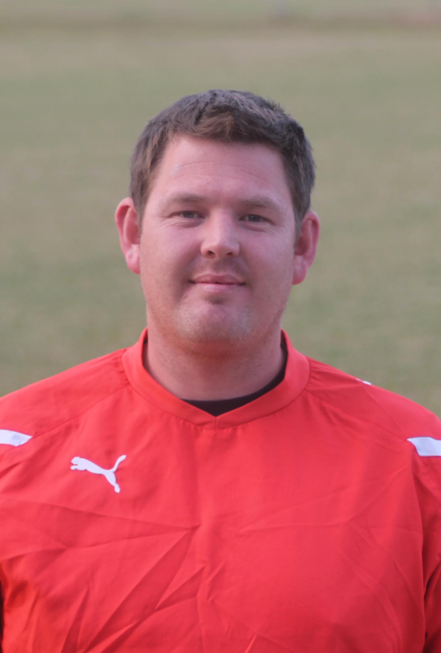 1st team coach Darren Hall